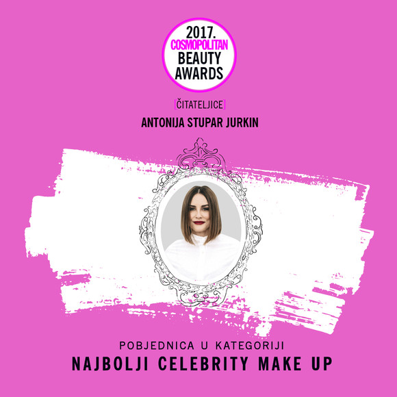 NAJBOLJI CELEBRITY MAKE-UP POBJEDNICA CBA2017