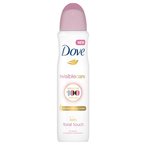 Dove Invisible Care floral touch HD