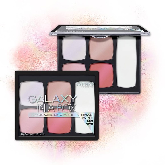 Catr. Galaxy In A Box Holographic Glow paleta za lice
