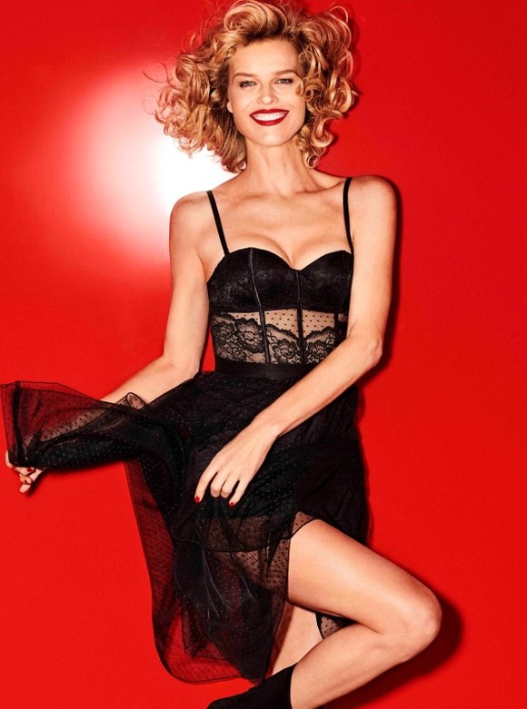 Eva Herzigova Yamamay Christmas collection (4)