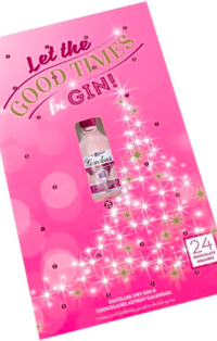 Gordon's Pink Gin 5cl & Chocolate Adventski kalendar, B&M