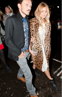 Sienna Miller i Matthew Williamson