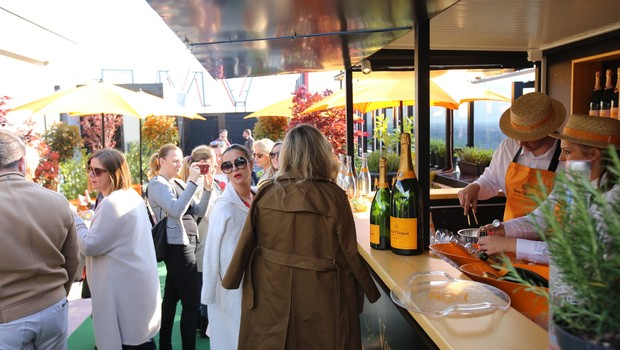 Rooftop Lateral Veuve Clicquot Champagne Bar